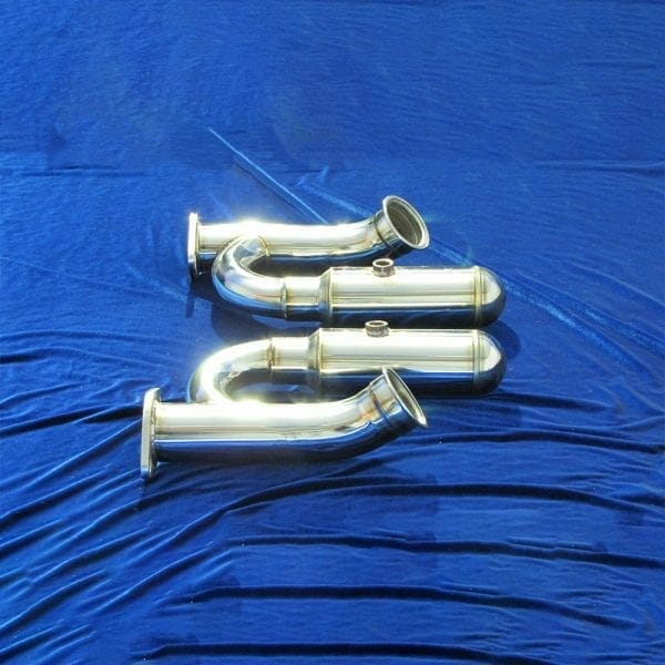 370Z Long Tube Headers With Helmholtz Resonator