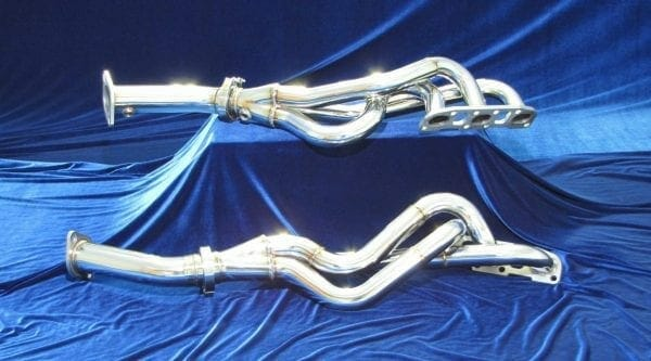 370Z Long Tube Headers With Straight Pipe