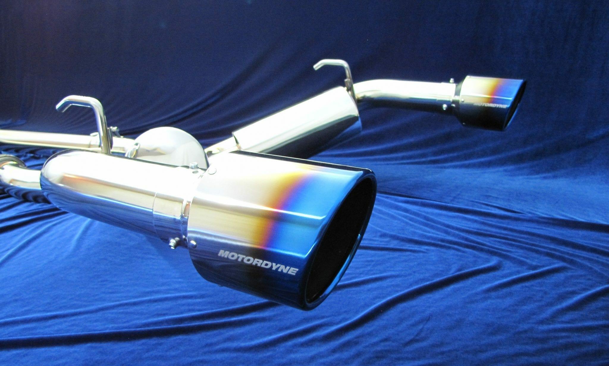 Nissan 350Z Exhaust - Motordyne ShockWave))) TDX2