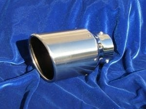 Motordyne Stainless Rolled Exhaust Tip
