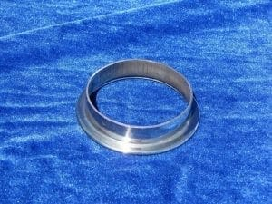 Polished V Band Flange