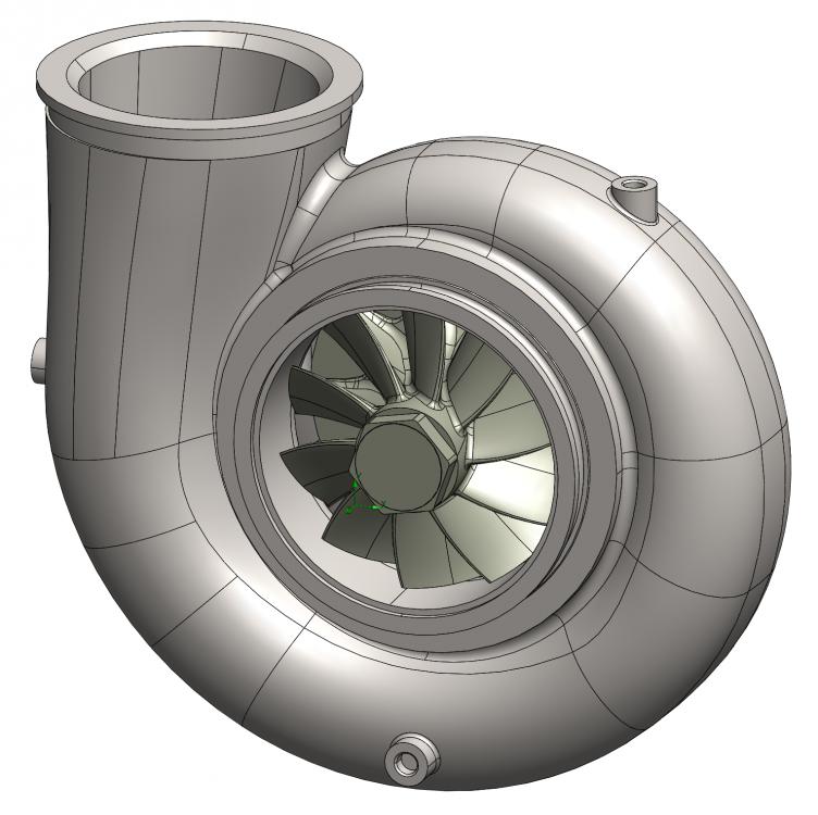Figure 2: Turbine Model
